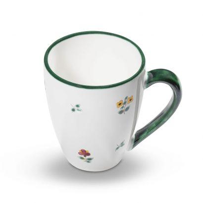 GMUNDNER KERAMIK Unterteller Cappuccino Gourmet Durchmesser handgemacht in /Österreich 14 cm Rotgeflammt Geschirr